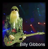 Rev, Billy Gibbons